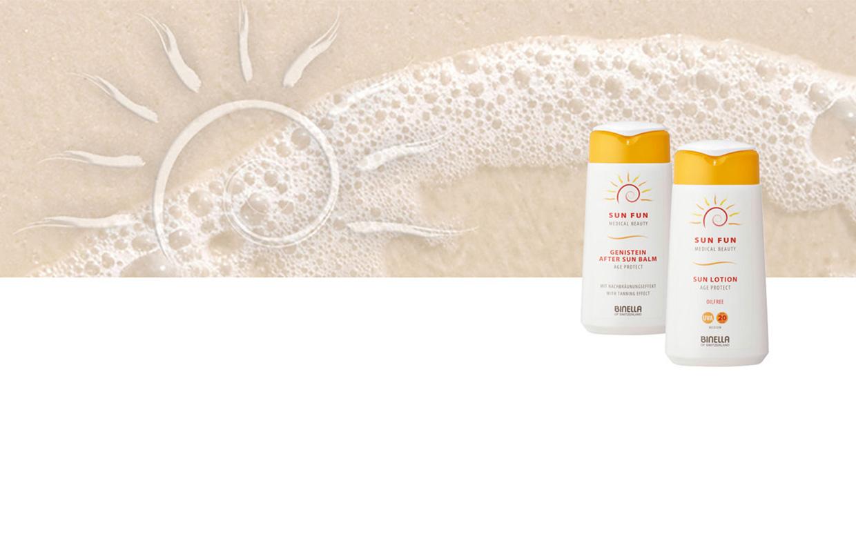 Header - Sun Fun Sonnenschutzprodukte von Binella