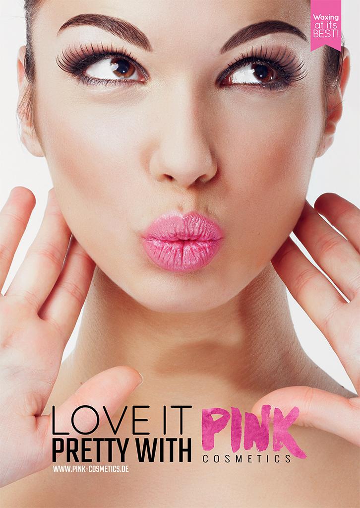 Pink Cosmetics Plakat - Love IT